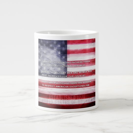 American Exceptionalism Large Coffee Mug