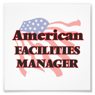 American Facilities Manager Photo Print