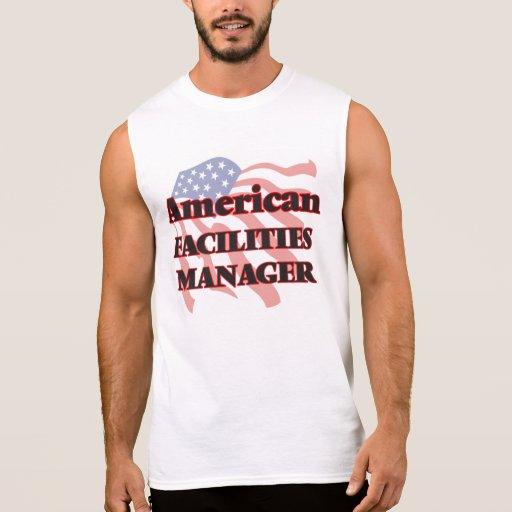 American Facilities Manager Sleeveless Tees Tank Tops, Tanktops Shirts