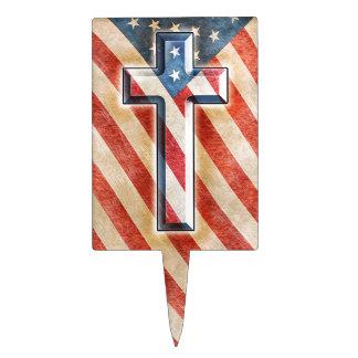American Faith Cake Picks