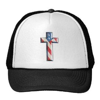 American Faith Cross Trucker Hat