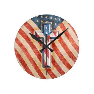 American Faith Wall Clocks