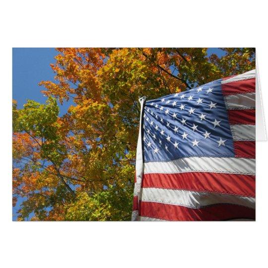 American Fall Card