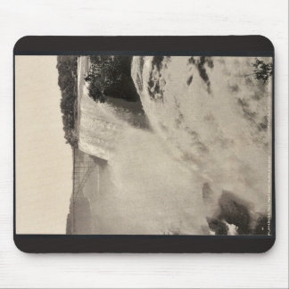 American Fall from Goat Island, Niagara rare Photo Mouse Pads