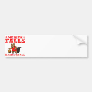American Falls Beavers Basketball Bumper Sticker