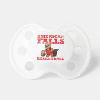 American Falls Beavers Basketball Baby Pacifier