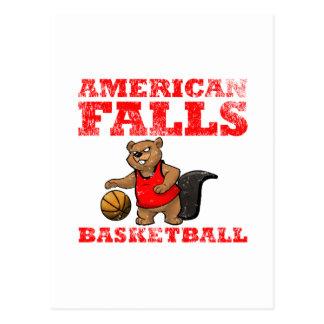 American Falls Beavers Basketball Postcard