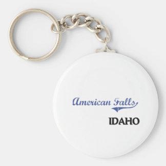 American Falls Idaho City Classic Key Chains