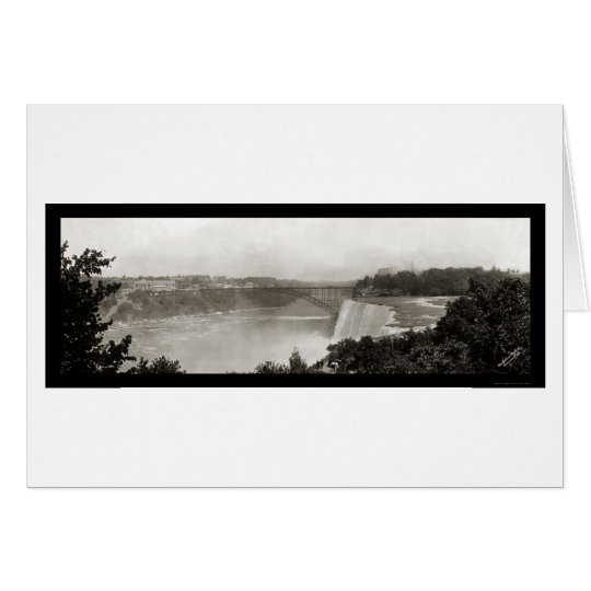 American Falls, NY Photo 1909 Card