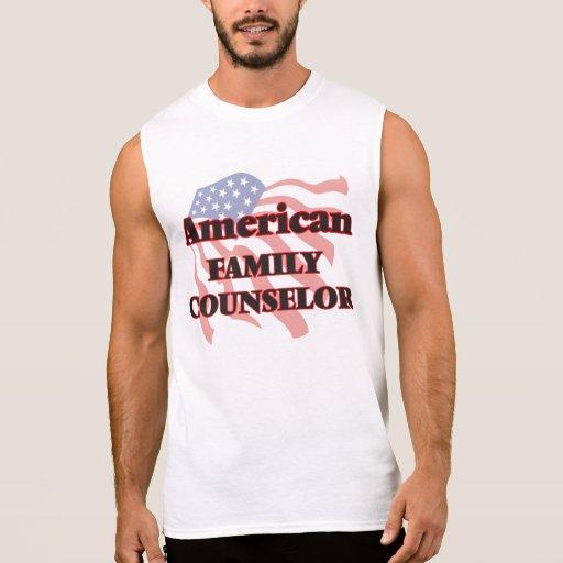 American Family Counselor Sleeveless Shirts Tank Tops, Tanktops Shirts
