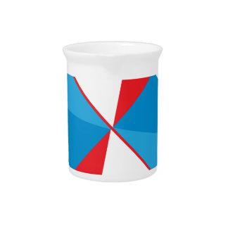 American fan drink pitcher