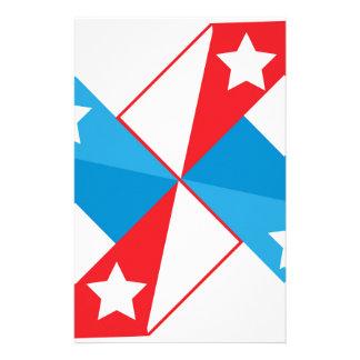 American fan stationery