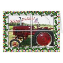 American Farmer's Christmas Card