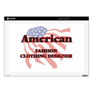 American Fashion Clothing Designer Decal For Laptop