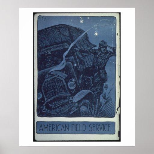 American_Field_Service._Propaganda Poster