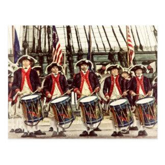 American Fife And Drum by Shawna Mac Postcard
