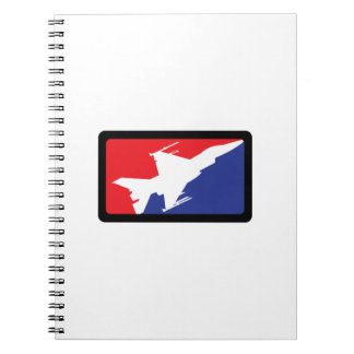 AMERICAN FIGHTER JET NOTE BOOKS