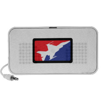 AMERICAN FIGHTER JET TRAVELLING SPEAKERS