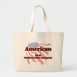 American Film Production Manager Jumbo Tote Bag