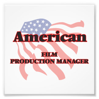 American Film Production Manager Photo Print