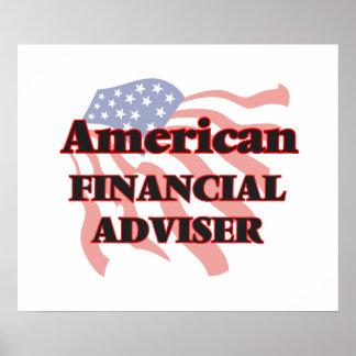 American Financial Adviser Poster