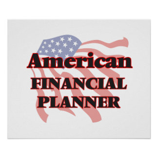 American Financial Planner Poster