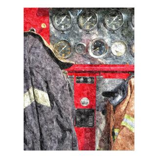 American Fire Truck Letterhead