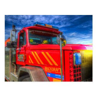American Fire Truck Postcard