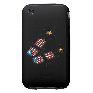 American Firecracker iPhone 3 Tough Cover