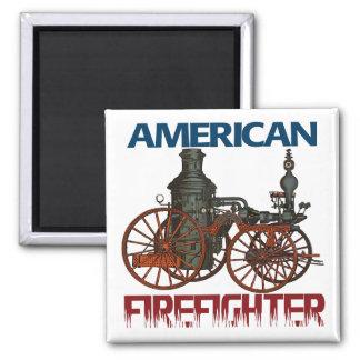 American Firefighter Fridge Magnets