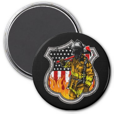 American Firefighters Magnet