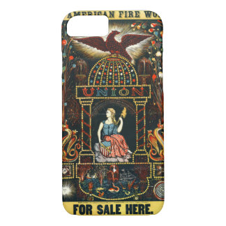 American Fireworks Ad 1872 iPhone 7 Case