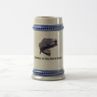 AMERICAN FiSHERMAN Beer Stein