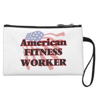 American Fitness Worker Wristlet Purses