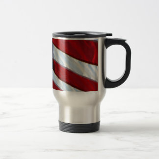 American Flag 15 Oz Stainless Steel Travel Mug