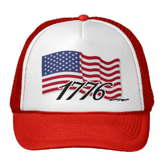 American Flag - 1776 Trucker Hat