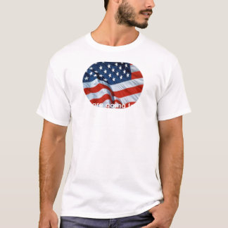 American_Flag-1, If you are going to burn our f... T-Shirt