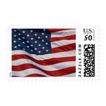 American Flag 1st Class stamp