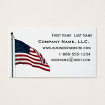 American Flag 2371 Business Card