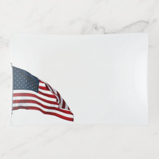 American Flag 2371 Trinket Trays