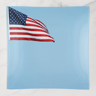 American Flag 2412 Trinket Trays