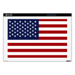 """American Flag 2 Decals For 17"""" Laptops"""