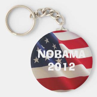 american-flag-2a, NOBAMA 2012, NOBAMA 2012 Llavero Redondo Tipo Pin