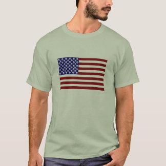 American Flag 50 Skulls T-Shirt