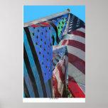 American Flag #5 Poster