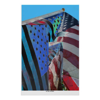 American Flag #5 Poster