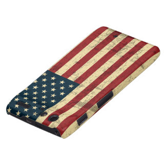 American Flag Aged Distressed Droid RAZR Case