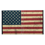 American Flag Aged Distressed iPad Folio Covers