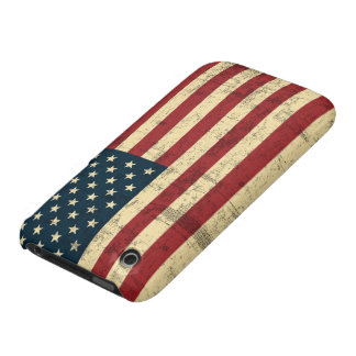 American Flag Aged Distressed iPhone 3 Cover
