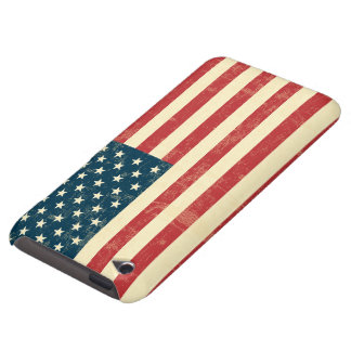 American Flag Aged Faded iPod Touch Case-Mate Case